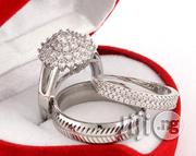 SQ Sterling Silver Wedding Ring Sets Silver | Wedding Wear for sale in Lagos State, Lagos Mainland