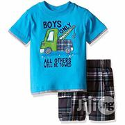 Kids Headquarters Boy's Only 2 Piece Set | Children's Clothing for sale in Lagos State, Lagos Mainland