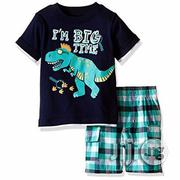 Kids Headquarters Boy's I'm Big Time 2 Piece Set | Children's Clothing for sale in Lagos State, Lagos Mainland