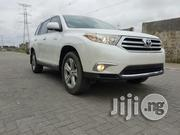 Clean Tokunbo Toyota Highlander 2012 White | Cars for sale in Lagos State, Ikeja