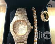 Patek Philippe Wristwatch And Chain | Watches for sale in Lagos State, Lagos Island