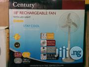 Century Rechargeable Standing Fan 18 Inches 3 Blade | Home Appliances for sale in Lagos State, Mushin