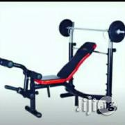 Weight Bench With 50 Kg Weight   Sports Equipment for sale in Abuja (FCT) State, Wuse 2
