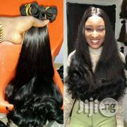 Original Human Hair 24inches With Closure | Hair Beauty for sale in Lagos State, Surulere
