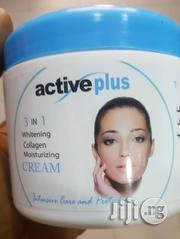 Active Plus 3 In 1 Whitening,Collagen And Moisturizing Cream | Skin Care for sale in Lagos State, Amuwo-Odofin
