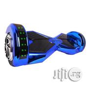 Bluetooth Hoverboard With Music Speakers Chrome Blue | Sports Equipment for sale in Lagos State, Ikeja