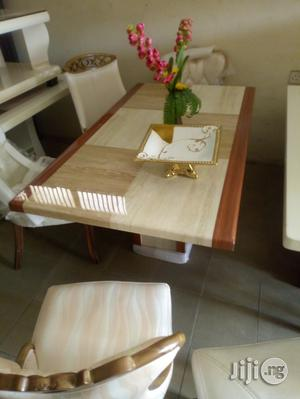 Crystal Marble Dining Table(Location Is Lagos)