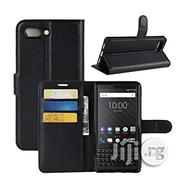 Wallet Leather Flip Case for Blackberry Key Two | Accessories for Mobile Phones & Tablets for sale in Lagos State, Ikeja