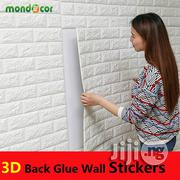 Classic 3D Wall Stickers Brick Pattern Waterproof Wallpaper Room | Home Accessories for sale in Lagos State, Ikeja