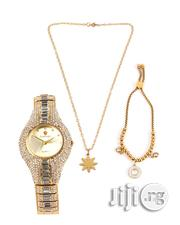 Set Of Female Wrist Watch, Chain And Bracelet. | Jewelry for sale in Lagos State, Lagos Island