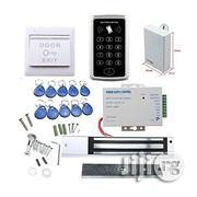 RFID Access Control Door Set+Magnetic Lock+Power Supplier+Exit Button   Doors for sale in Lagos State, Ikeja