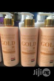 Pure Egyptian Gold Lotion | Bath & Body for sale in Lagos State, Amuwo-Odofin