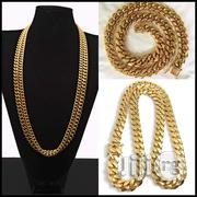 Cuban Gold Neck Chain | Jewelry for sale in Lagos State, Lagos Island