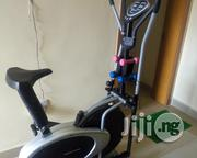 Brand New Stationary Bike With Dumbell | Sports Equipment for sale in Akwa Ibom State, Uyo