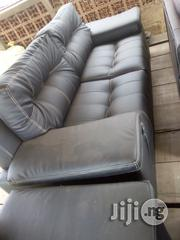 Complete Set of Original Leather Sofa Chairs | Furniture for sale in Ogun State, Abeokuta South