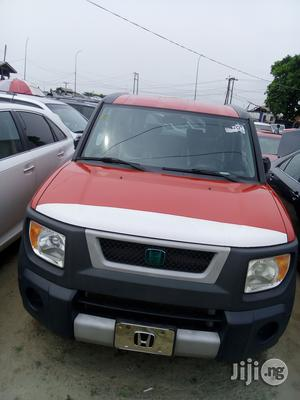 Honda Element 2009 Red