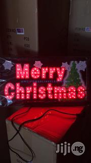 LED Sign Light Merry Christmas | Home Accessories for sale in Lagos State, Lagos Mainland