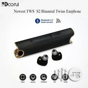 Newest Wireless Waterproof Bluetooth Headset S2 Mini TWS Magnetic | Headphones for sale in Lagos State, Ojo