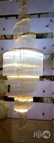 Quality Crystal Chanderlier Light With LED And Space For Energy Bulb | Home Accessories for sale in Lagos State, Ojo