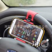 Car Steering Wheel Clip Mount Phone Holder | Vehicle Parts & Accessories for sale in Lagos State, Ikeja