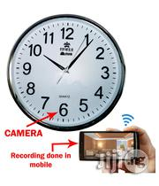 Wall Clock Hidden Spy Wi-fi Camera | Security & Surveillance for sale in Lagos State, Ikeja