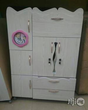 Children Wooden Wardrobe