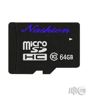 Nashion 64GB Micro SD Memory Card With Free Adapter
