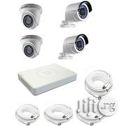 Hikvision CCTV Camera Full KIT (4 Channels Combo) HD Resolution | Security & Surveillance for sale in Rivers State, Port-Harcourt