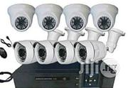 Cctv Day & Night Vision AHD 1.3 Mega Pixel 8 Channels 4 Outdoor 4 Plastic Indoor Camera | Security & Surveillance for sale in Lagos State, Ikeja
