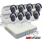 Hikvision , 8-channel HD DVR And 8 Outdoor Security Camera Kit | Security & Surveillance for sale in Lagos State, Ikeja