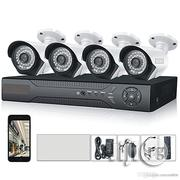 CCTV 4 Channel 4 Cameras 1080P AHD Home Security Cameras | Security & Surveillance for sale in Lagos State, Ikeja