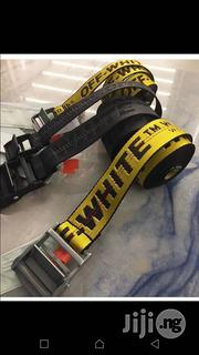 Off White Belt Original | Clothing Accessories for sale in Lagos State, Surulere