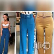 Pant Trouser With Belt   Clothing Accessories for sale in Lagos State, Ikoyi