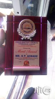 Presentable Wooden Plaque Award | Arts & Crafts for sale in Lagos State, Ikeja