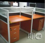 Quality Modern 4-seater Office Workstation Table | Furniture for sale in Lagos State, Ikeja