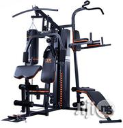 3 Station Multi-Gym With Punching Bag | Sports Equipment for sale in Lagos State, Surulere