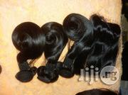 Magic Curve With Closure 3 Bundles.12inches | Hair Beauty for sale in Lagos State, Ojo