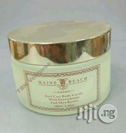 Maine Beach Half Caste Body Cream With Glutathione and Shea Butter | Bath & Body for sale in Lagos State, Lagos Mainland