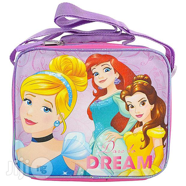 Disney Princess Square Lunch Kit Insulated