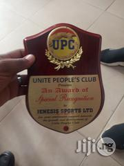Plaque Award With Printing @Chinochris Sports Ltd | Arts & Crafts for sale in Lagos State, Ikeja