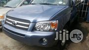 Clean Tokunbo Toyota Highlander 2006 Hybrid Blue | Cars for sale in Lagos State, Ikeja