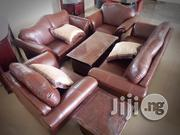 Complete Set of High Quality Italian Leather Sofa   Furniture for sale in Abuja (FCT) State, Dei-Dei