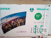 Hisense Curved Smart 60 Inches | TV & DVD Equipment for sale in Lagos State, Ojo