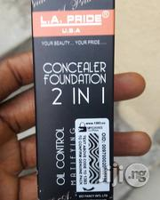 LA Pride 2 In 1 Foundation And Concealer | Makeup for sale in Lagos State, Amuwo-Odofin