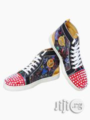 Christian Louboutin Red Bottom Spike Sneakers | Shoes for sale in Lagos State, Magodo