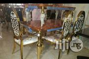 Golden 6 Seater Dinning Set | Furniture for sale in Abuja (FCT) State, Wuse