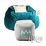 Spikkle Spikkle Beanbag Chair & Leg Rest & 1 Pillow - Teal Green | Furniture for sale in Oyo State, Ibadan South West