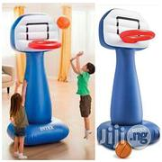 Intex Kids Basketball Hoops Set For Indoor/Outdoor + Free Pump | Toys for sale in Abuja (FCT) State, Central Business District