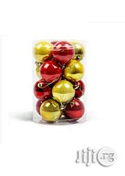 Christmas Tree Balls (Gold/Red) 24 Pcs | Home Accessories for sale in Lagos State, Lagos Island