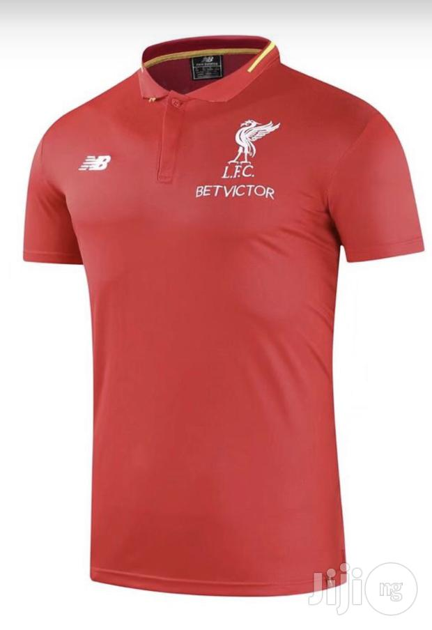 Liverpool Jersey For Officials